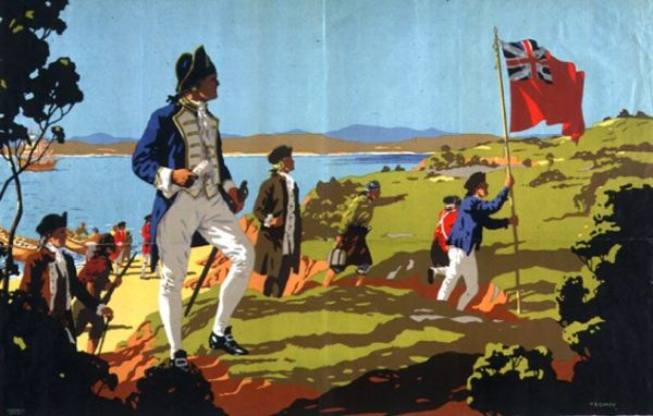 Резултат с изображение за Джеймс Кук достига източния бряг на Австралия.