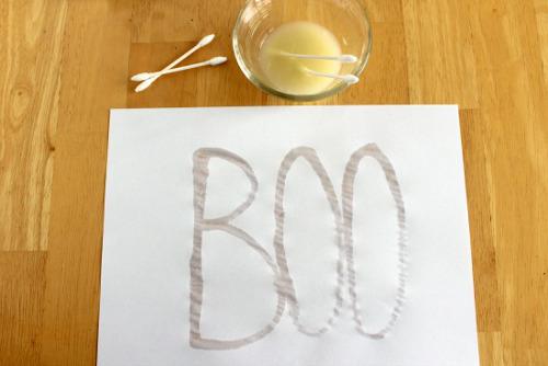 Resultado de imagen para writing with lemon juice